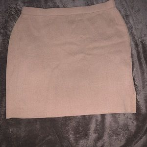 SHEIN Knit Skirt with Side Slit